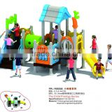 Beautiful color children plastic combined playground Baole