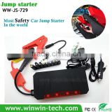 2015 New Design mini power bank car jump starter Multifunction 12/24V 21000mAh Auto Jump Starter for Petrol and Diesel Cars