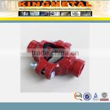 FM/UL approved fire fighting grooved pipe fitting