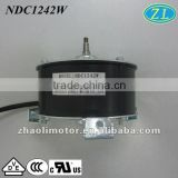 Electric axial fan Ceiling fan motor, low rpm brushless DC Motor: 65 bldc motor, 24V, 12V