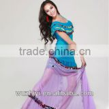 one piece high fashion and elegant belly dance dress, latin costume China Wuchieal QC 2038
