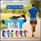 Outdoor Light Weight Running Jogging Sporting Waist Belt Bag Purse Pocket with Touch Screen Cellphone Bag Pouch