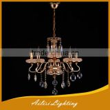 traditional antique top sale 5 lights crystal chandelier for dining room