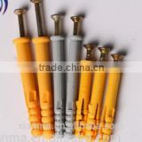 Nylon Frame Fixing Anchor with Nail Screw
