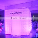 2016 Hot sale led inflatable photo booth, portable photobooth for sale
