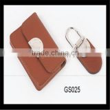 Beautiful neutral beautiful wholesale leather business card holder