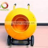 Long Life Span 2 Wheels Mini Mobile Cement Mixer With Ring Gear