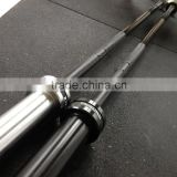 Black Zinc Plated Olympic Barbell Loading Weight 1800LB /Barbell Sleeve Colard Band LOGO avaiable