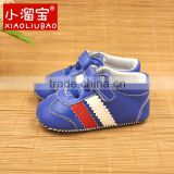 2016 wholesale sports shoes soft children leather shoes for baby boy