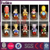 OEM Cartoon Toy Plastic Dragon Ball Z Games' Figure with A Base