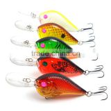 9.5cm 10.5g Laser Fishing Lure 4# Hooks Plastic Lures Hard Baits Isca artificial Fish Fishing Tackle
