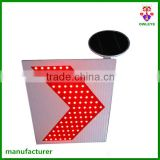 solar traffic arrow marker/road traffic arrow signs/ portable led traffic signs