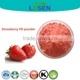 Natural Organic Strawberry Freeze dried Powder Strawberry Flavour powder