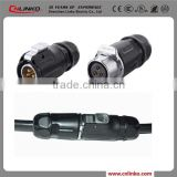 ip68 3pin male female connector for led outdoor lighting