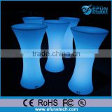 innovative bar and pub furniture, led color changed commercial used pub furniture bar table