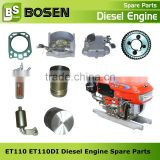 ET110 ET110DI Kubota Diesel Engine Piston Piston Ring of ET110 ET110DI Diesel Engine Kubota Spare Parts