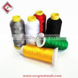 various colors cheap Rayon/ Polyester thread embroidery thread for embroidery sewing thread wholesale