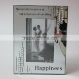 glass photo frame, photo frame, curve frame