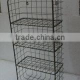 Metal Basket Rack