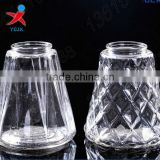 Prismatic carve patterns or designs on woodwork glass candlestick manufacturers selling small paragraph/candle jar jar/bottle/gl