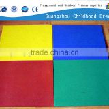 CHD-819 Colorful Customized Badminton Court Rubber Flooring playground rubber tile hong kong
