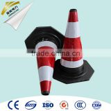 Road safety Reflective Green Traffic Cones