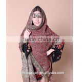 Turkey and India pashmina shawl warm/muslim prayer shawl hijab/wool cashmere shawl scarf