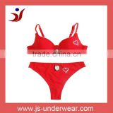 wholesale hot selling design hot beads bra and panty