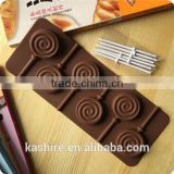 High Quantity Eco-friendly safty Wave plate sugar shape silicone chocolate mould,soap mold,diy cake mould