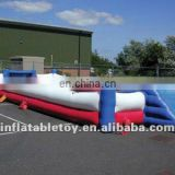top sell Inflatable football pitch/ football top sell Inflatable football pitch/ football goal shooting games