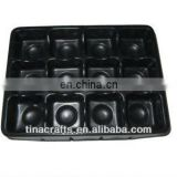 Black Chocolate Blister tray