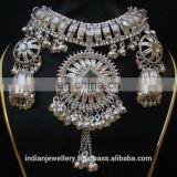 Tribal junk beaded jewelry sets with earrings exporter, tribal jewellery sets manufacturer