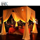 RK wedding pipe and drape chiffon drape with alternative size from RK from RK
