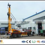 300M depth drilling capacity Truck mounted bore hole drilling machine