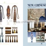 New Chinese style--copper+coffee,tassel for curtain,,wholesale tassels,tassel and fringe