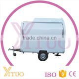 China Mobile Fried Ice Cream Cart/Mobile Food Cart With Frozen Yogurt Machine/Electric Mobile Food Carts