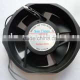 AC electric motor cooling fan
