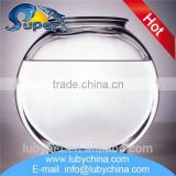 Professional large glass fish bowl for wholesale