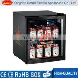 single glass door electric 50L Custom Beer Mini fridge                                                                         Quality Choice