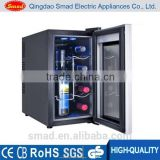 Hot home kitchen appliance equipment display fridge commercial refrigerator wine chiller wine cooler BCW-25A(8Bottles 25L)