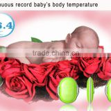 APP version safe accuracy miniature bluetooth body temperature thermometer with sensor