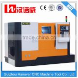 High Accuracy Machine tool 2 Axis Slant Bed Mini CNC Lathe CKX400L from China Manufacturer