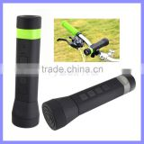 Wireless Portable Power Bank Bluetooth Bike Speaker with 3000mAh Capacity LED Light Speakers for Mobile Phone