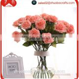 China cheap wholesale resh cut flower moisturizing rose artificial flower,european home decor