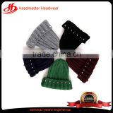 Fashion Custom knit winter beanie hats for kids