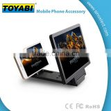 Mobile Phone Screen Magnifier Bracket Enlarge Stand for Iphone 5 5s 5c 4 Samsung Galaxy S5 S4 S3