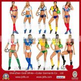 2014 wholesale cheerleading uniforms designs &hot sell sexy cheerleader uniforms&Custom sublimated cheerleading uniforms
