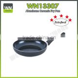 Aluminium alloy non-stick frying pan marble coating pan deep fry pan avaiable factory lowest price
