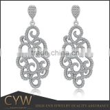 CYW wholesale fashion 925 sterling silver zirconia jewellry for christmas gift 925 sterling silver jewellry