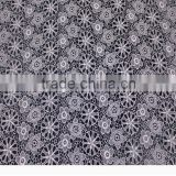 2015 lastest emboidery lace fabric for apparel, lingeries, trimming